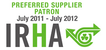 IRHA Preferred Supplier Patron