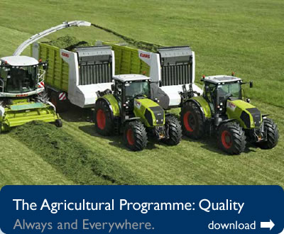 The Agricultural Programme - click to download as PDF
