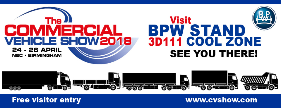 Visit BPW Stand 3D111 Cool Zone. See you there!