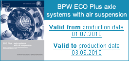 Important Warranty and Service dociuments for download for ECO Plus axles