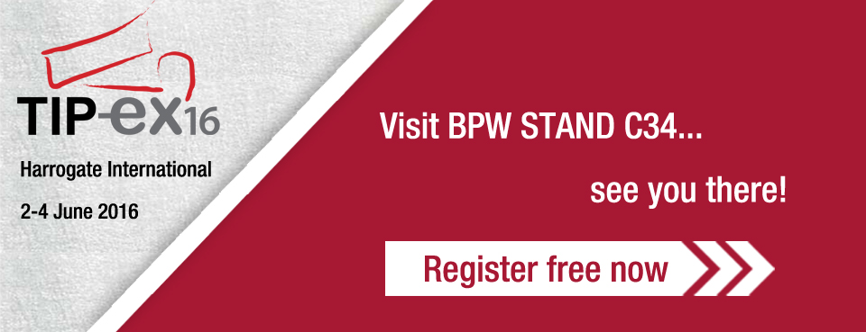 Visit the BPW Stand C34.